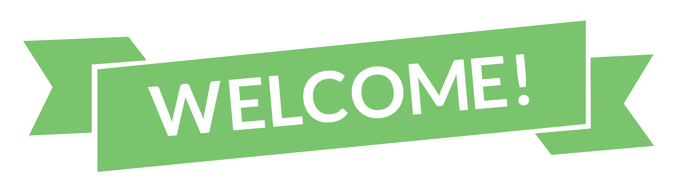 Welcome-In-Green-Background